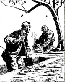 WWII cartoonist