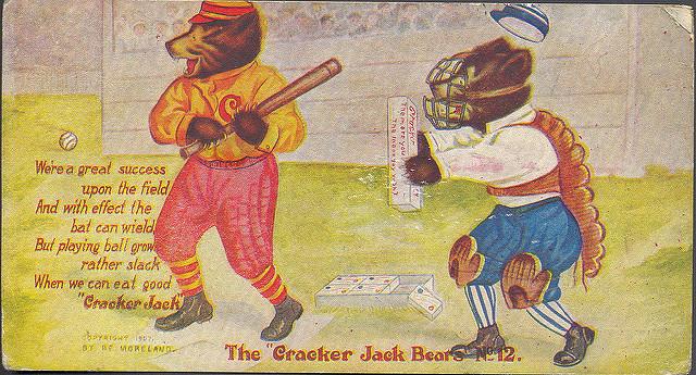 Cracker Jack mascots