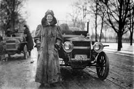 first woman to drive cross country