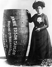 Annie E Taylor with main barrel