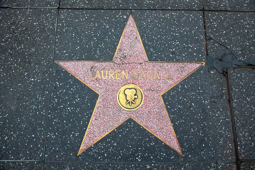 Hollywood Walk Of Fame Lauren Bacall