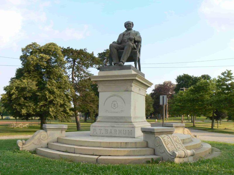 Barnum monument
