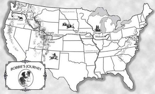 Bobbie's route