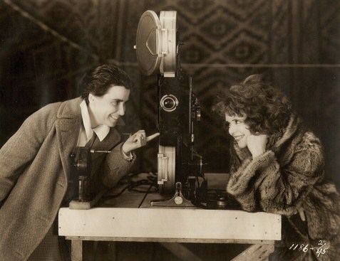 Dorothy Arzner and Clara Bow