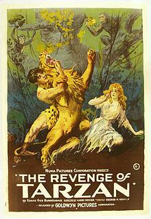 Tarzan movie poster
