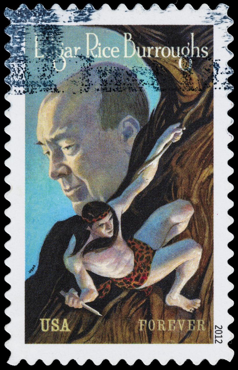 Edgar Rice Burroughs istock stamp