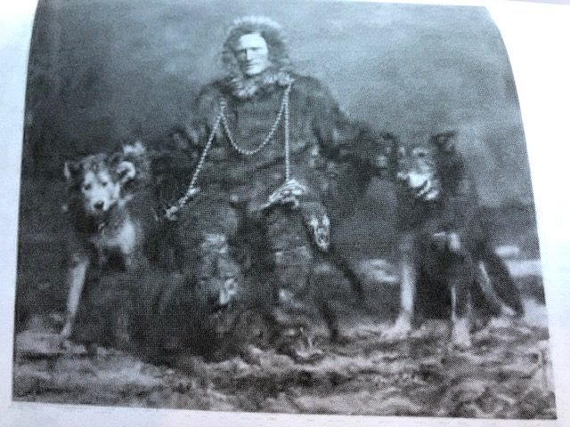Eli Smith and dogs