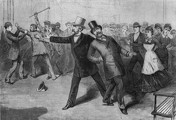 President Garfield's assassination