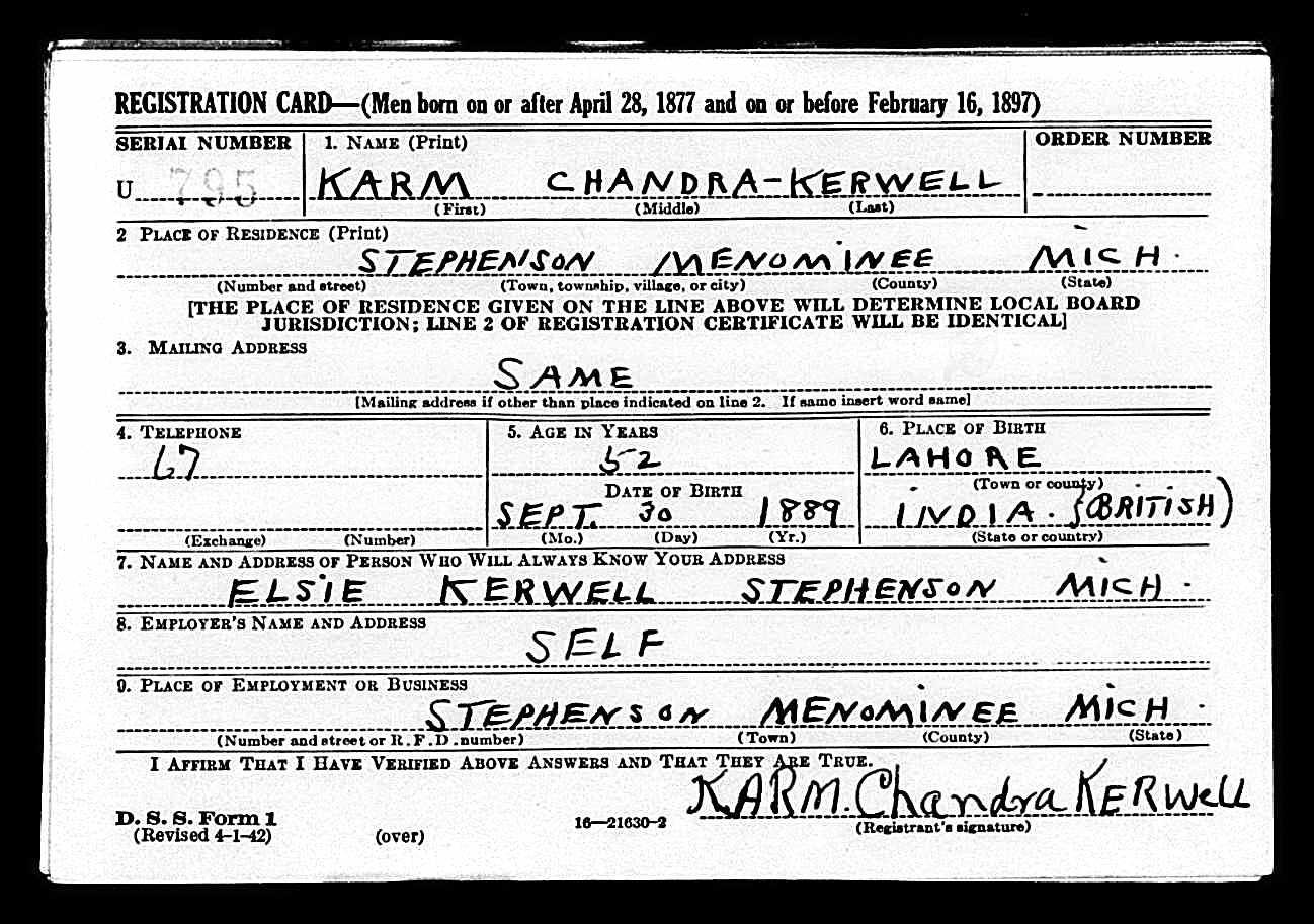 Dr. K.C. Kerwell