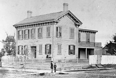 Lincoln home in Springfield