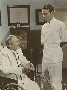 Lionel Barrymore, wheelchair