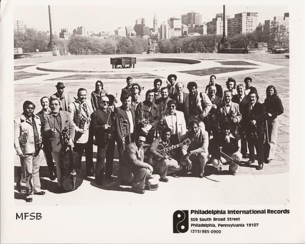 "Philadelphia International Records house band publicity shot ""MFSB"""