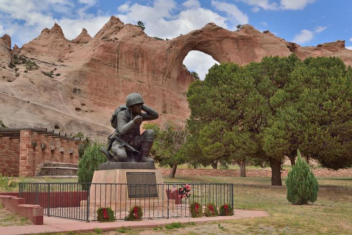 Navajo Code Talker Memorial