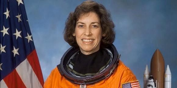 Latina astronaut