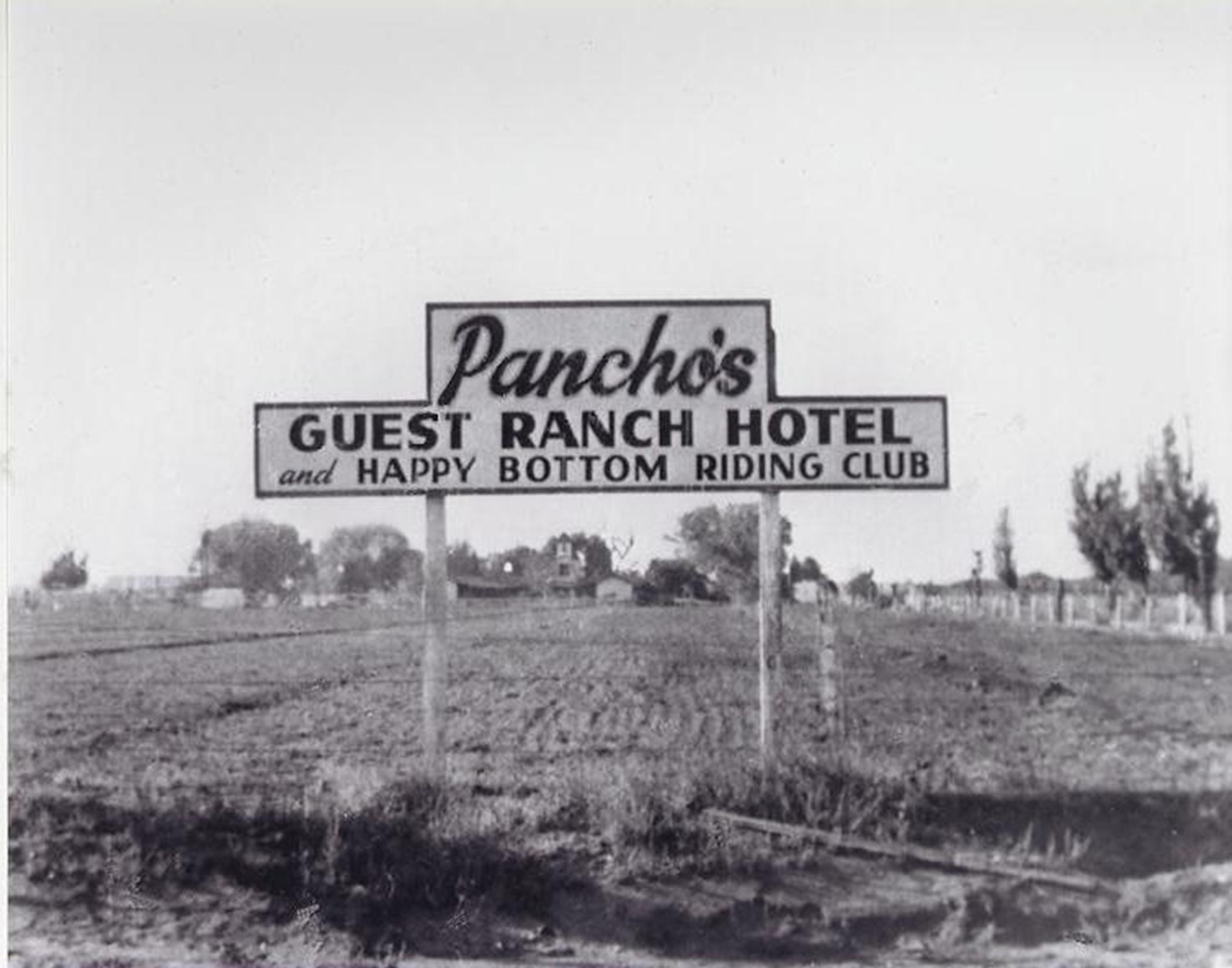 Pancho Barnes, happy bottom rididng club