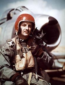 ace pilot Pete Fernandez
