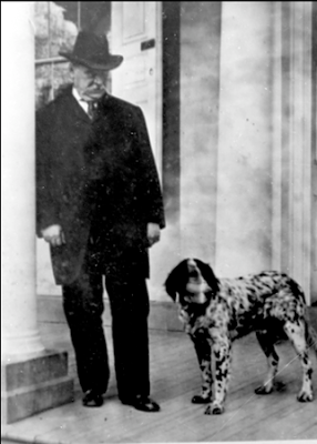 Grover Cleveland's dogs