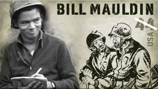Bill Mauldin cartoonist
