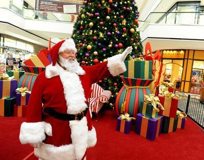 Santa at Department store