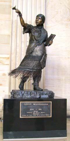 Sarah W statue in DC
