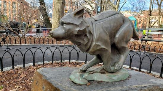 Statue of Togo, New York istockphoto