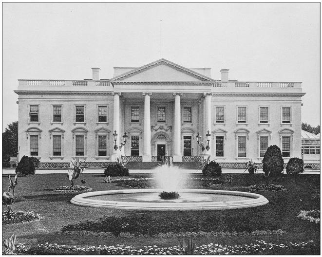White House historic photo