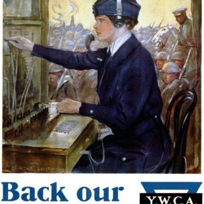 women soldiers WWI