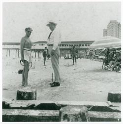 Leroy Colombo on beach