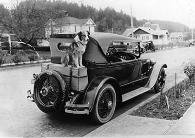 Bobbie and car