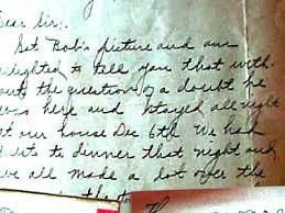 Bobbie letter