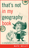 That's not in my geography book
