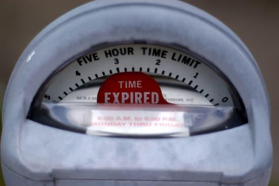 expired parking meter
