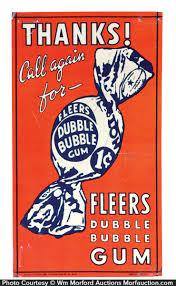 Fleer bubble gum