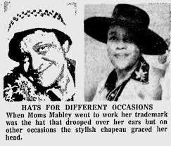 hats for Mabley