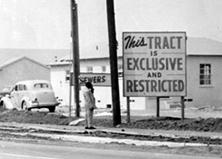 restrictive covenant sign