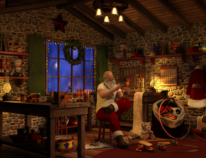 first Santa